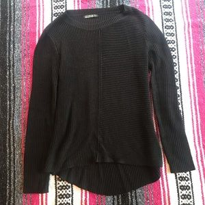 Cotton on black sweater